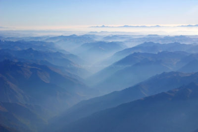 Above the Peruvian Andes