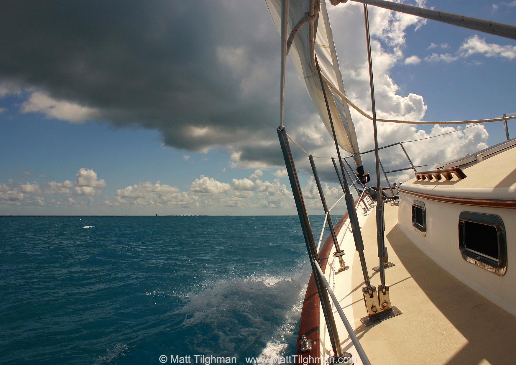 Sailing in the Florida Keys