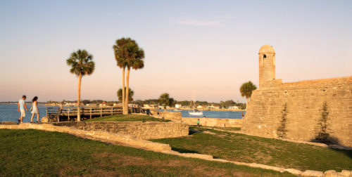 Walking the Walls - Castillo de San Marcos
