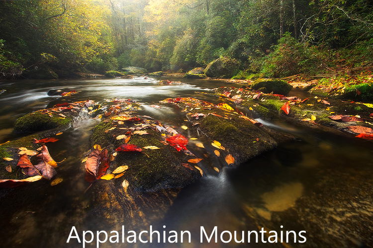 Link to Appalachian Mountains landscape photograph gallery