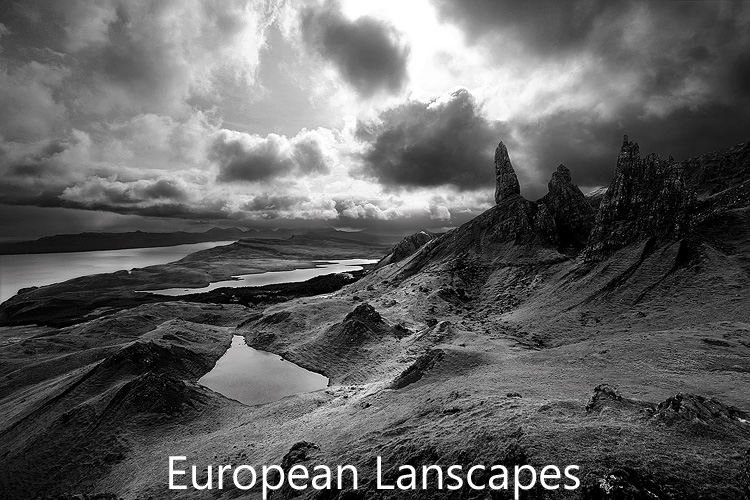 Link to image gallery of European Landscape images