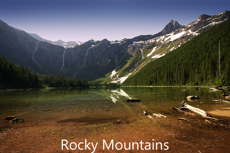 Link to Rocky Mountains photograph gallery